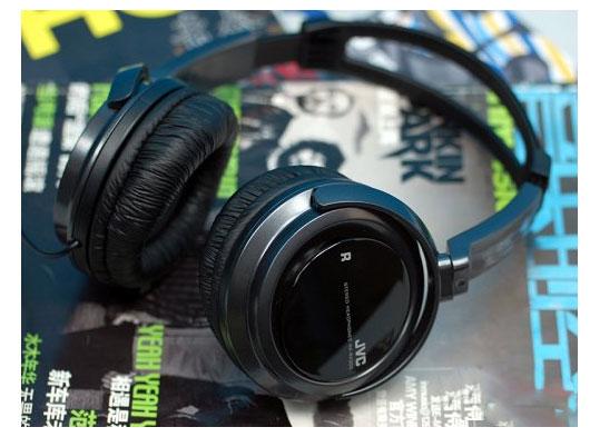jvc ha-rx300强劲低音炮大耳机(黑色)