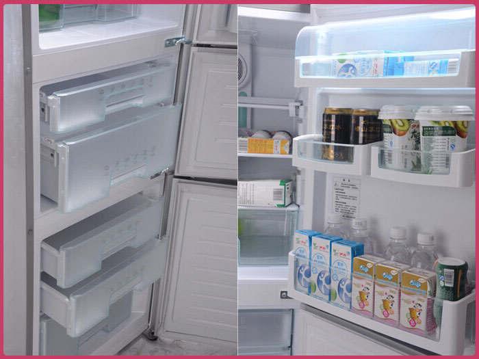 海尔(haier)bcd-228wbjv冰箱