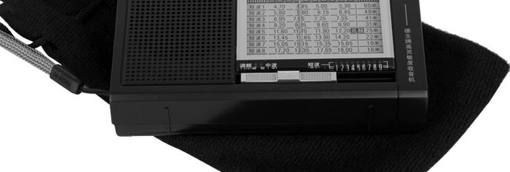 德生(tecsun)r-911收音机(黑色)