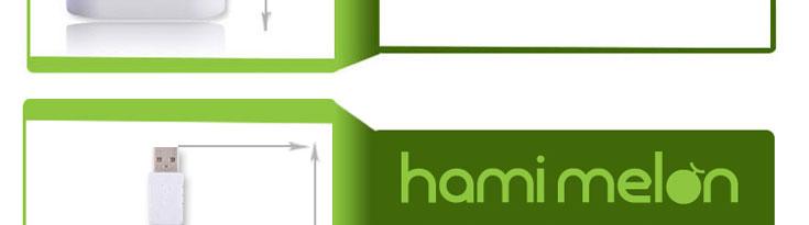 哈密瓜(hamimelon)苹果充电头+usb多功能充电器