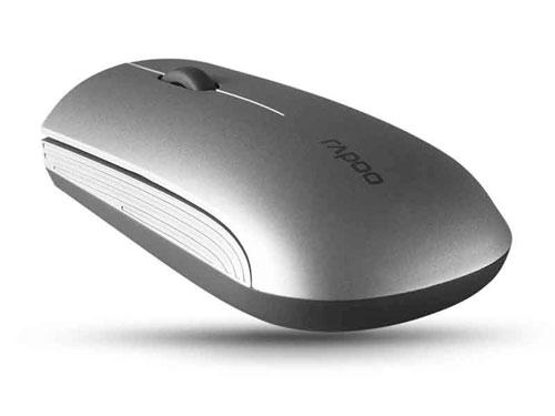 雷柏(rapoo)1200入门级无线光学鼠标(银色)