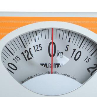 (百利达)ha801刻度放大镜彩色人体健康秤130kg人体秤体重秤家庭用秤