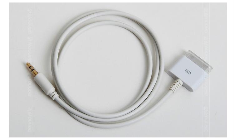 koocar车用音频连接线苹果数据线充电线aux音频线3合1