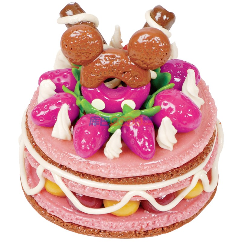 disney/迪士尼儿童益智diy玩具 彩泥系列 可爱小蛋糕