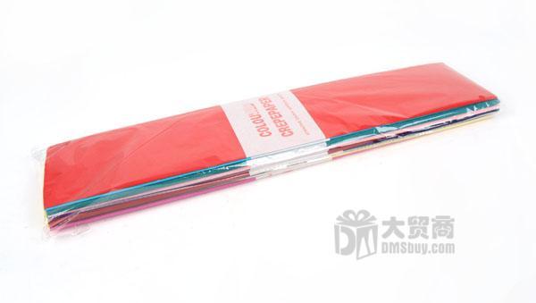 皱纹纸荷花折纸步骤教程