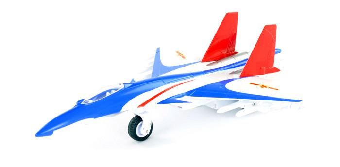 彩珀 歼15 回力合金飞机模型玩具