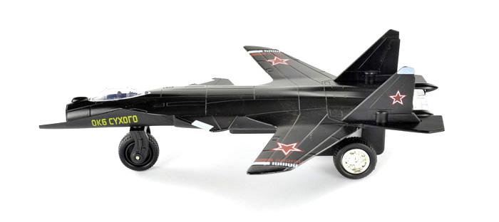 彩珀 苏47 回力合金飞机模型玩具