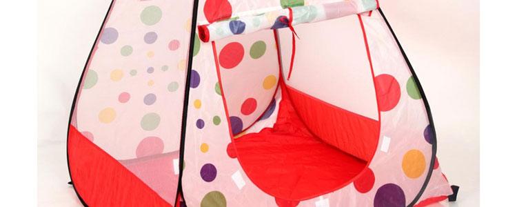 0 儿童帐篷 超大游戏屋 便携式 宝宝帐篷 公主屋玩具 送海洋球 af0005