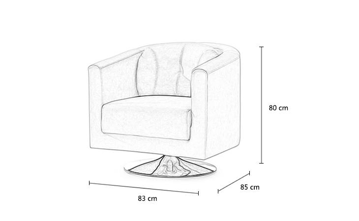 舒适现代皮艺休闲单人沙发椅