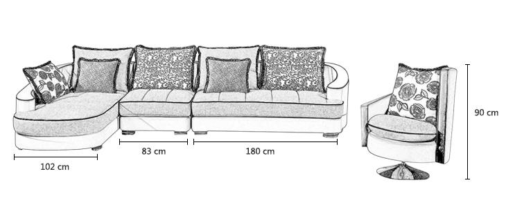 沙发骨架结构图片大全