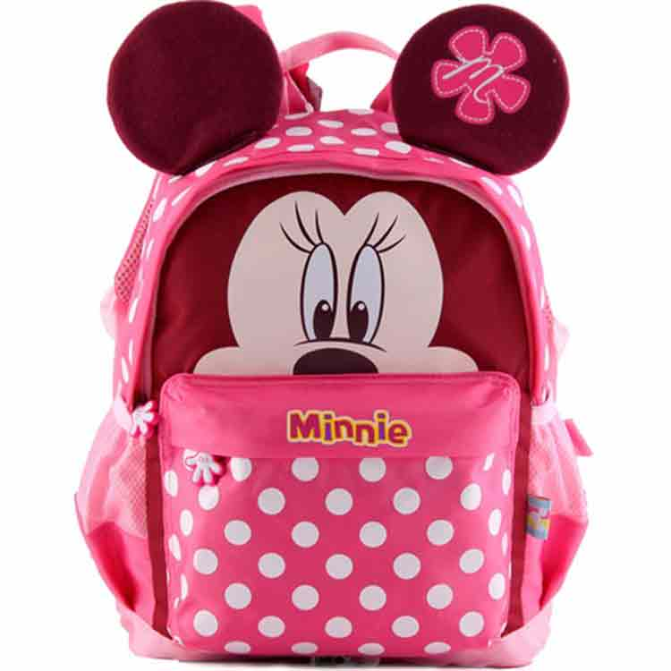 迪士尼幼儿园书包米奇卡通双肩米妮背包 dxmb80015(蓝色)