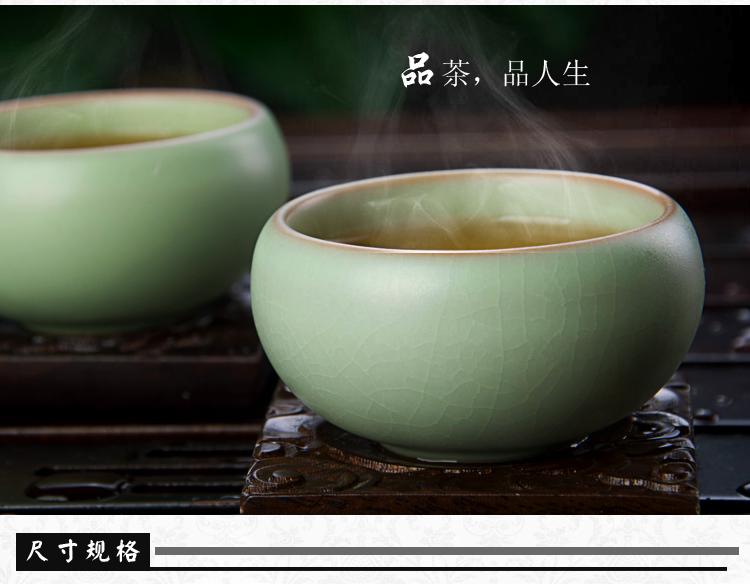 景德镇整套陶瓷茶具 黑檀木功夫茶具带电磁炉黄梨木