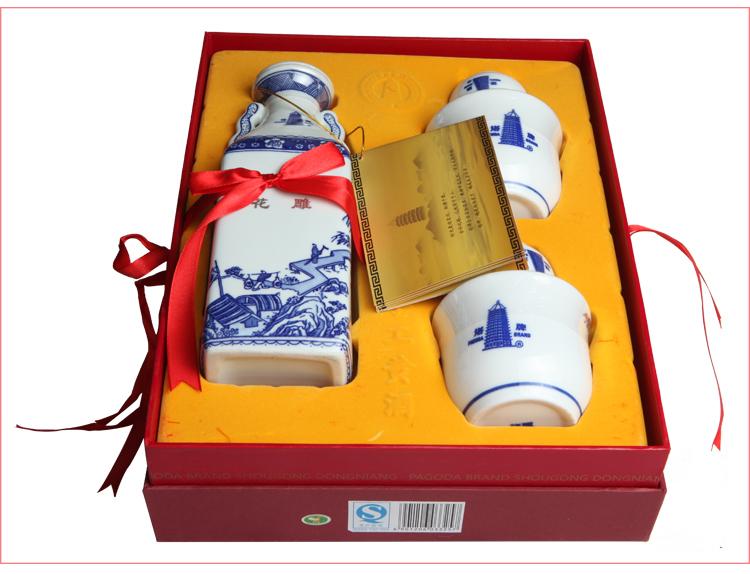 【浙江塔牌黄酒】塔牌三十年盒装花雕600ml【图片