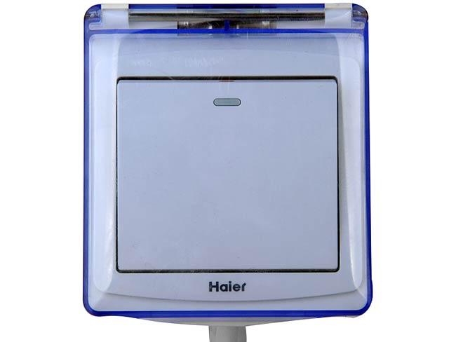 海尔es6.6u电热水器(6.6升小厨宝 防水线控 防电墙技术)