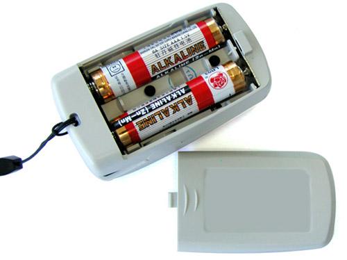 电池安装示意图