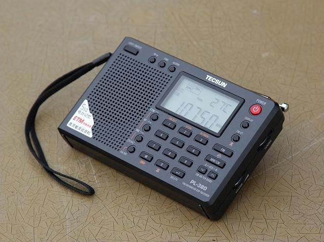 德生(tecsun)pl380收音机