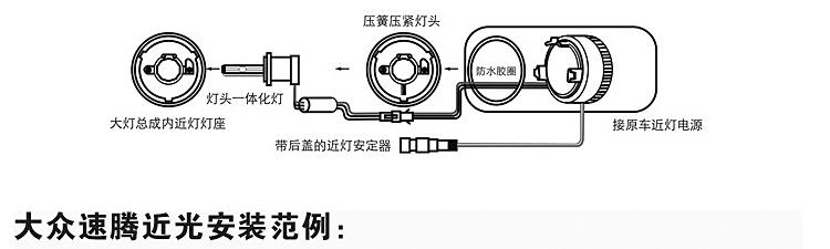 丰田rav4大灯电路图