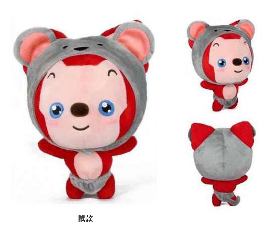 阿狸十二生肖毛绒公仔猴