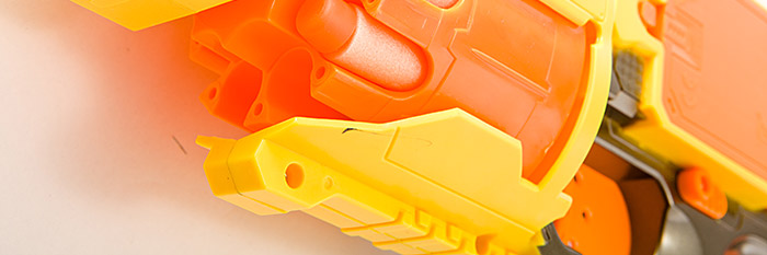 子弹的玩具枪了