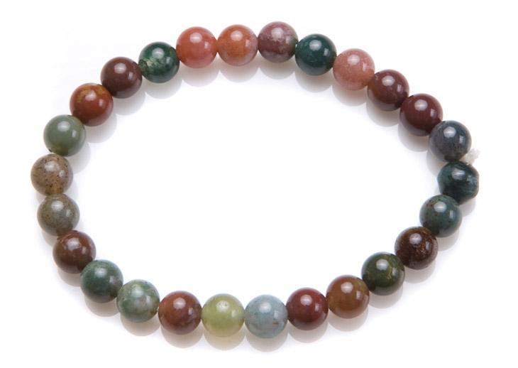 贝瑞雅bry010201396七彩石手链(多色)