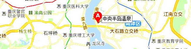 重庆融侨半岛地图