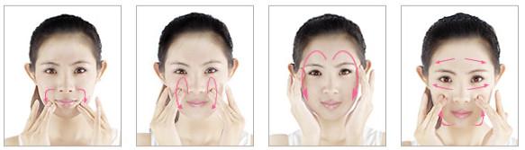 精华护理4个步骤