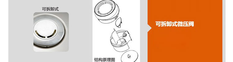 苏泊尔(supor)机械式电饭煲陶晶系列cfxb16yb3-36回流