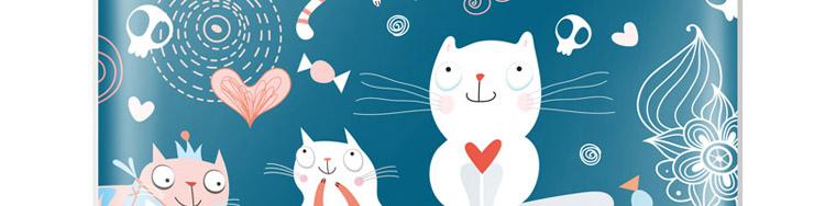 skinat 奔跑的兔子 ipad2 3g/ipad3 4g背面保护彩贴