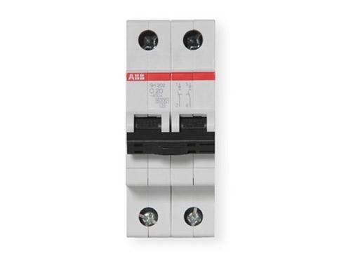 sh202-c20微型断路器(2p-20a)空气开关