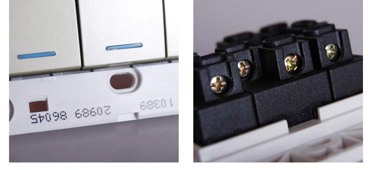 其他 单开单控五只装 单开单控(荧)五只装 五孔十只装 双联边框 三联