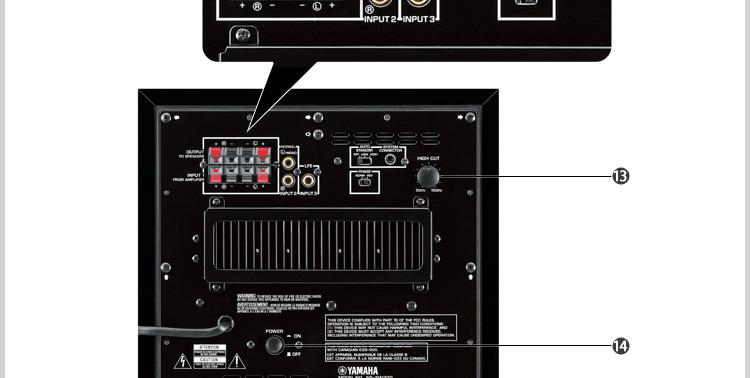 雅马哈(yamaha)ns-sw200 超低音音箱 有源低音炮(黑色)