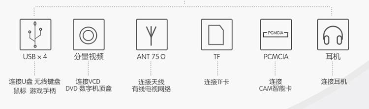 海信(hisense)led55ec650un 55英寸 4k 智能 网络电视 4k 十核 内置