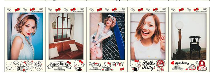富士instax mini拍立得相纸(hello kitty40周年)