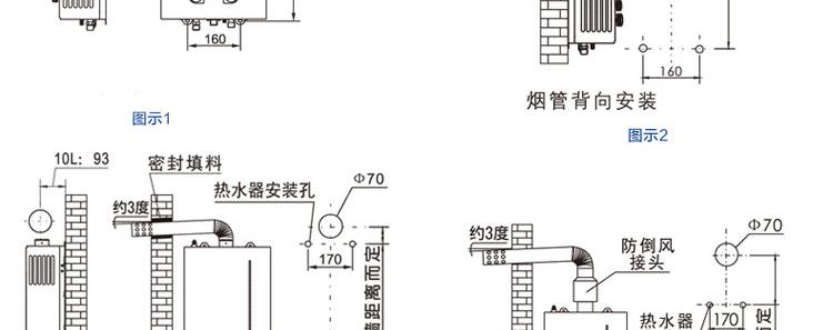 帅康(sacon)jsq19-10sc04燃气热水器(10l 双速交流风机 水,气稳压设计